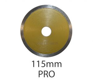 115mm Diamond Circular Wet Saw Blade - Pro