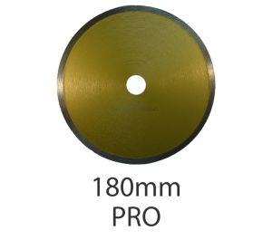 180mm Diamond Circular Wet Saw Blade - Pro
