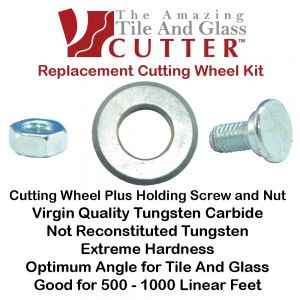 The Amazing Tile and Glass Cutter Replacement Cutting Wheel Kit